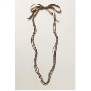 Anthropologie Sonora Strands Necklace